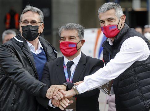 Joan Laporta opet izabran za predsjednika Barcelone