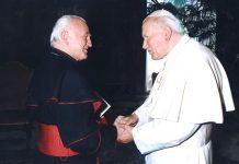 Kardinal Franjo Kuharić i Ivan Pavao II.