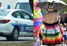 LGBT crna gora policija