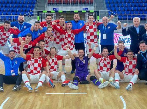 Hrvatska futsal reprezentacija nadigrala Ukrajince i osigurala EP