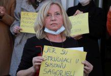 Prosvjedovali zaposlenici socijalne skrbi: Doživljavamo vrijeđanja, ali i fizičke napade