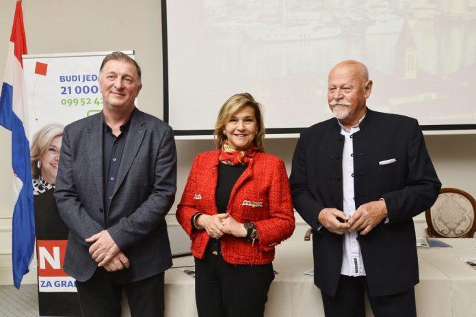 Nansi Ivanišević, predstavila kandidate za zamjenike gradonačelnika