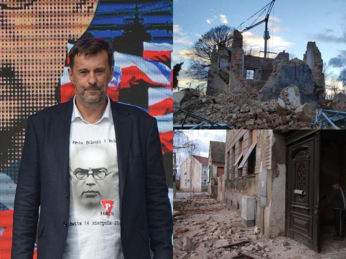 Sisak potres Poljska