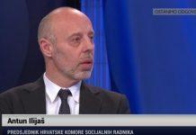 antun ilijaš predsjednik Hrvatske komore socijalnih radnika
