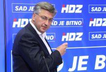 Plenković HDZ