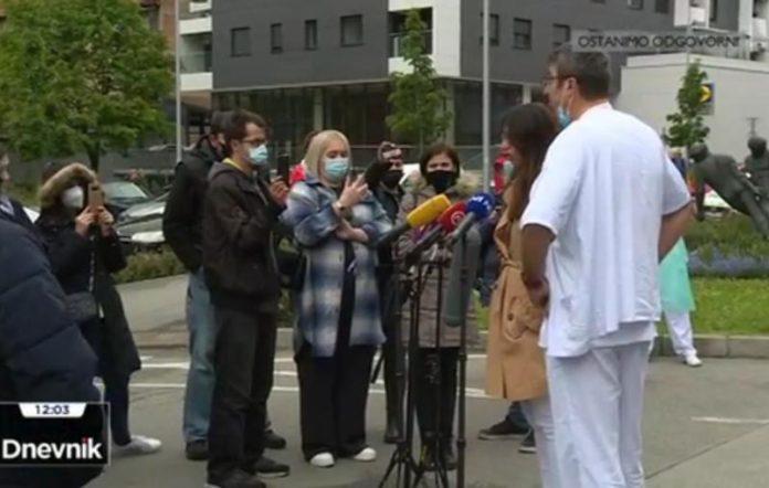 prosvjed klinika za tumore