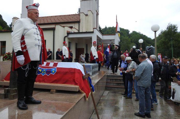 Macelj: Pokopani posmrtni ostatci 84 žrtve poslijeratnog razdoblja