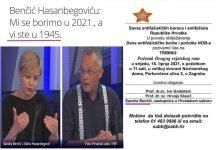 Benčić predaje za Savez antifašista