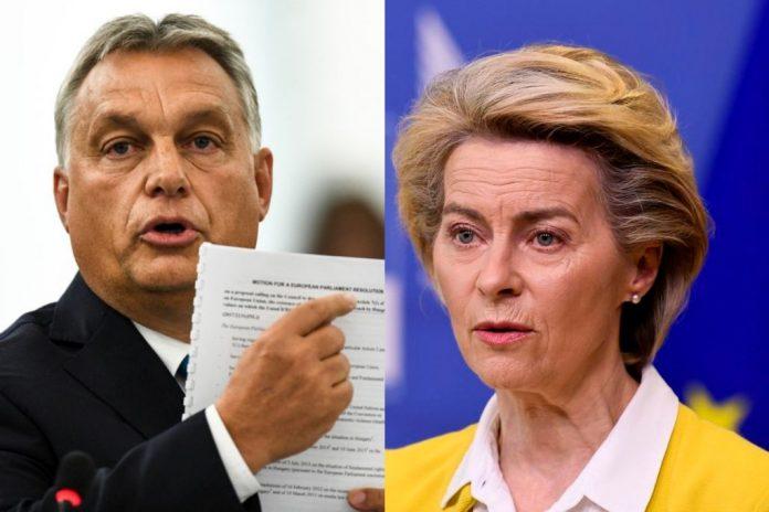 Orban Ursula von der Leyen