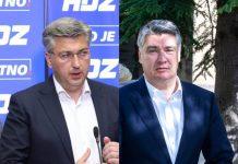 HDZ plenković milanović