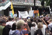 prosvjed london