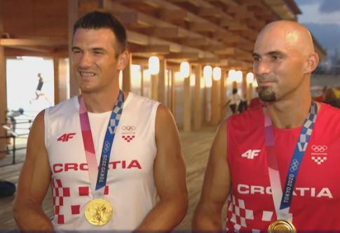 """Sinkovići: """"Prekrasna medalja, teško ju je nositi oko vrata!"""""""
