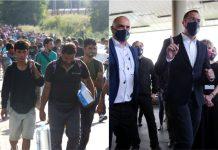 Bosanac, Tomašević, migranti