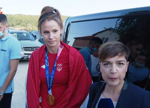 Olimpijska pobjednica u svom gradu: Ponosna sam što sam iz Knina