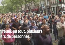 prosvjed pariz francuska
