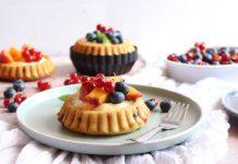 Jednostavne voćne tortice s ukusnom kremom