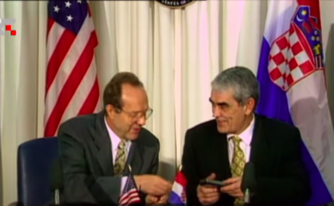 William Perry i Franjo Tuđman