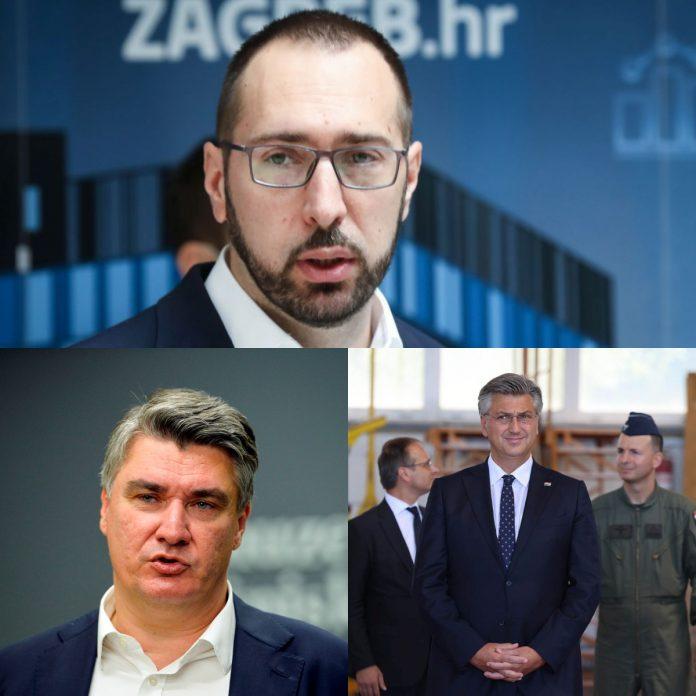 Tomašević, Milanović, Plenković