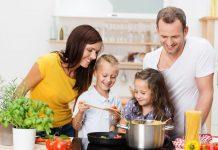 kuhanje obitelj zdravi obrok