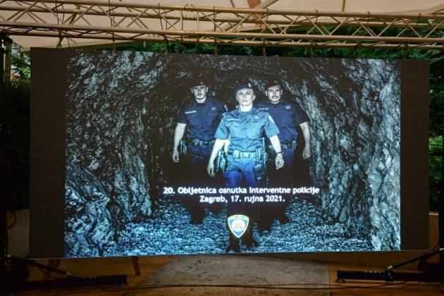 20. obljetnica osnutka interventne policije u Hrvatskoj