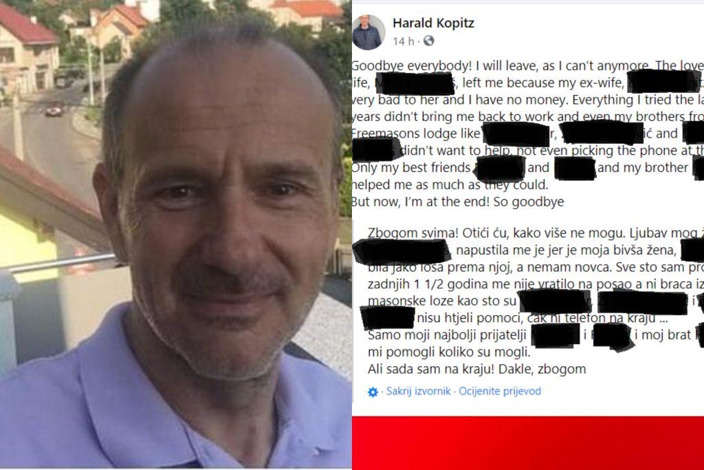 Pročitajte oproštajno pismo Austrijanca koji je ubio svoje troje djece u Zagrebu