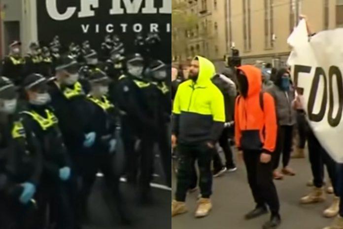 Melbourne prosvjeda