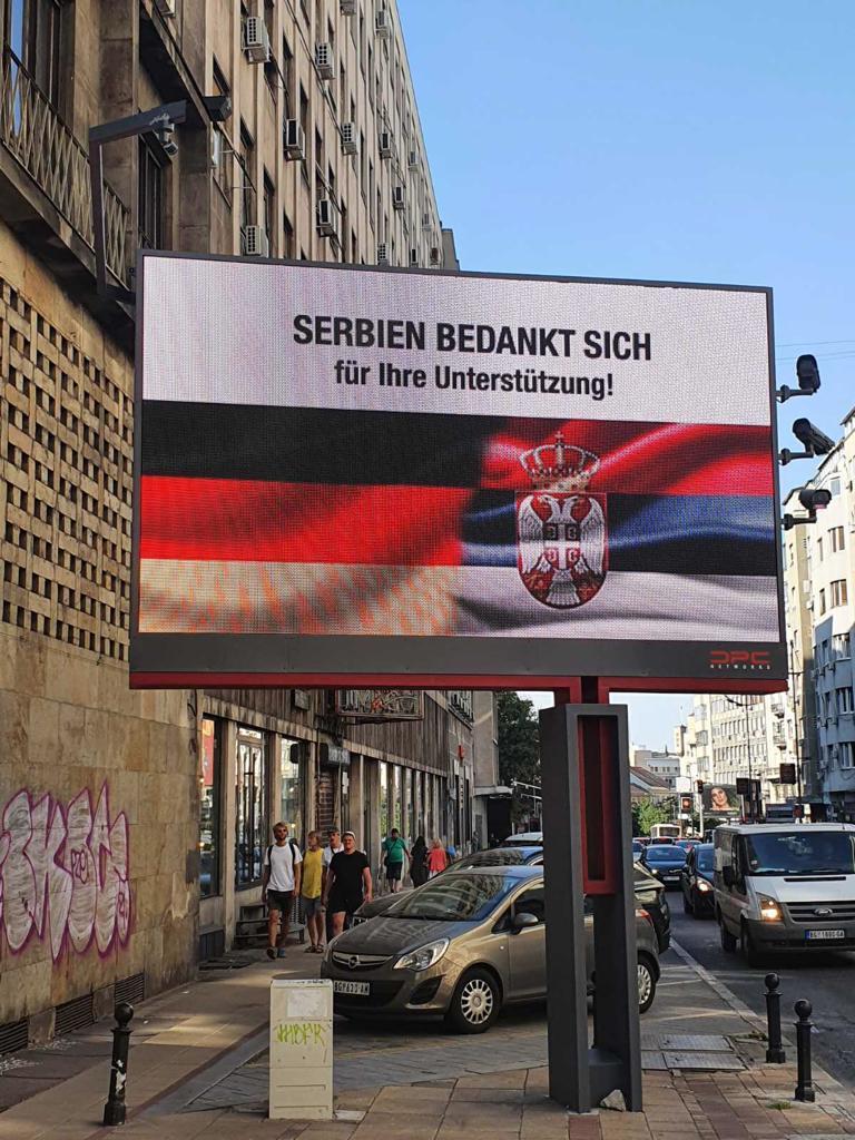 Merkel u Beogradu