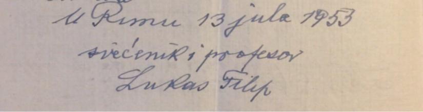 potpis don Filip Lukas