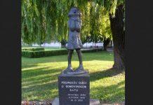 Spomenik poginuloj djeci u Domovinskom ratu, u Slavonskom Brodu