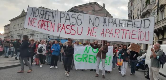 Prosvjed u Trstu