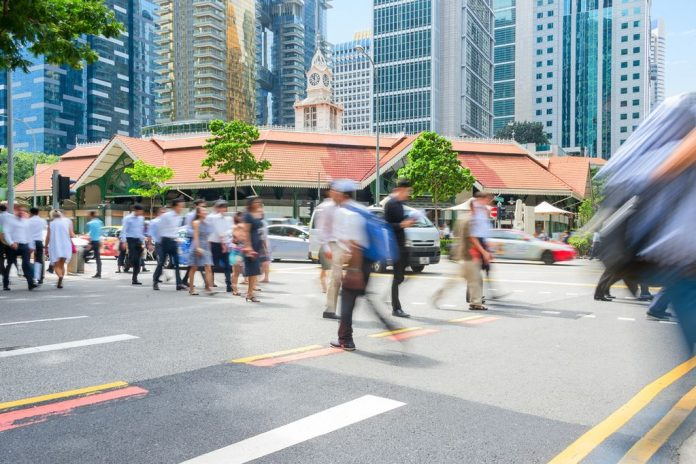 ljudi u singapuru