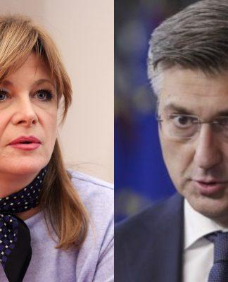 Karolina Vidović Krišto, Andrej Plenković