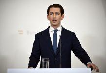 Austrian Chancellor Sebastian Kurz resigns
