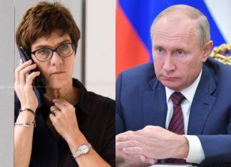Kramp-Karrenbauer Putin