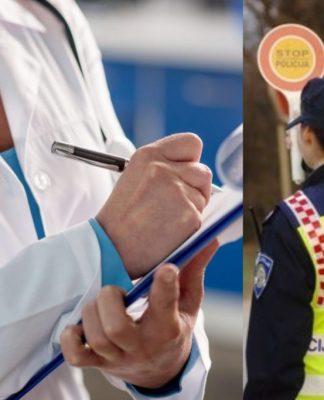 liječnici policija